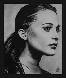 Alicia Vikander #2 by JoolsDrawing