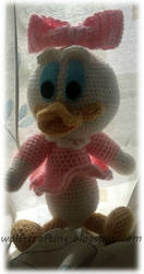 Daisy-duck by hund1kene