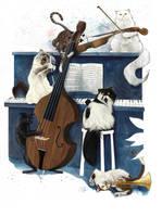 The Aristocats by m2mazzara