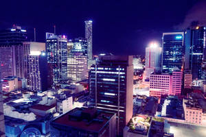 Neon Brisbane by adelruna