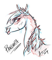 Pandora Re-design - conquering Tide by CinnamonStudios