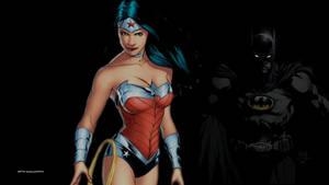 Wonder Woman and Batman by Curtdawg53