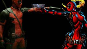 Deadpool vs Deadpool by Curtdawg53