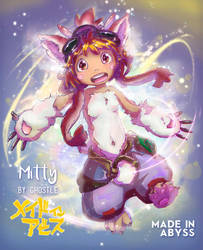 Mitty Made in Abyss - Fanart by Ghostle by GhostleArt
