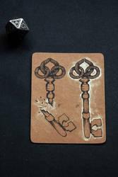 DnD 5e Spellcard: Mending by wool-gatherer