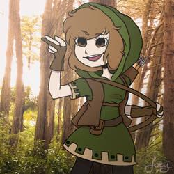 Robin Hood wifeu and gf by AngrySpringOniion