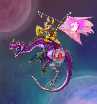 Dragon Princess by BrianLabore