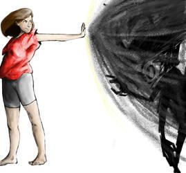 Emily VS Dark COMPLETE by Platypus-Queen