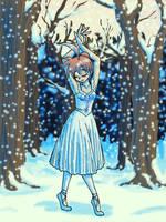 Dance of Snowflakes by InuLeeli