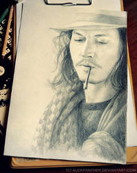 [request] Johnny Depp by Alex-Panther