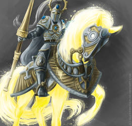 Heroes of Might and Magic VI - Sun Crusader by Alex-Panther