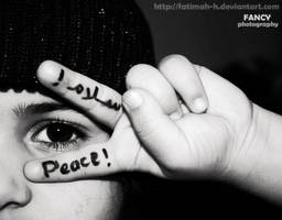 P E A C E by Fatimah-H