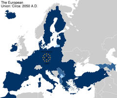 Alternate Future EU Map by Muzik-Maniac
