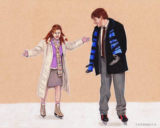 A Good Day - Jim and Pam by Ladamania
