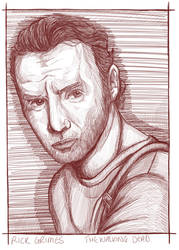 Rick Grimes by LisaGunnIllustration