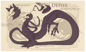 |Introduction into the Dephx Specie| by CrypticKoi