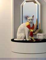 Harry Cat Potter by Cherubit