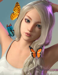 SS: Butterflies by Cherubit