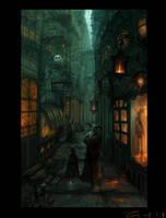 Street alley by ZERG118