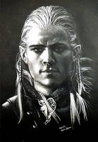 Legolas - Fanart by Colocat