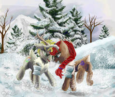 my little Caribou by OwlVortex