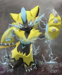 Pokemon Zeraora by OwlVortex