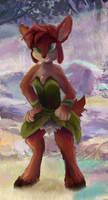 Spyro-Elora by OwlVortex