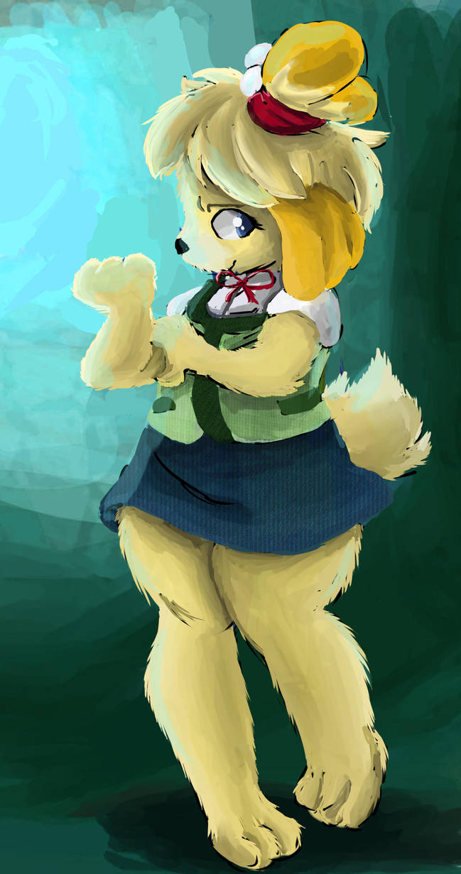 Animal Crossing Isabelle by OwlVortex