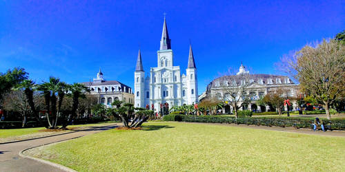 St. Louis Cathedral by FloridanPhotographer