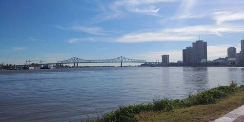 The mighty Mississippi River by FloridanPhotographer