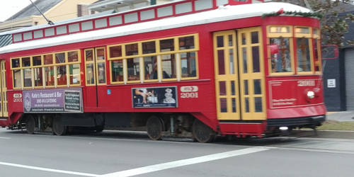New Orleans Trolley by FloridanPhotographer
