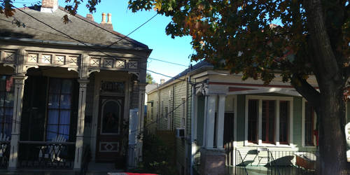 New Orleans 'Shotgun' style houses by FloridanPhotographer