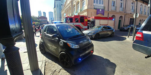 Smart Fortwo (New Orleans Police) by FloridanPhotographer