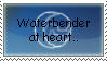 Waterbender at Heart: Stamp by TheHungeredPenguin
