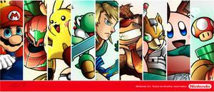 Nintendo Super Stars - Display by sergio-borges