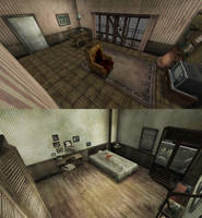 Silent Hill 3 - Mason Apartment rooms (download) by Mageflower