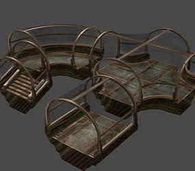 Bioshock - Rapture ocean tunnels by Mageflower
