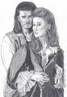 Will Turner + Elizabeth Swann by Kamino185