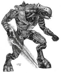 Arbiter from Halo 2 by Kamino185
