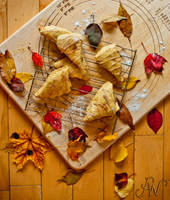 Fall Aroma - Pumpkin Scones by waudrey