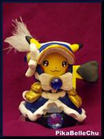 Custom Cosplay Belle Pikachu Amiibo by pikabellechu