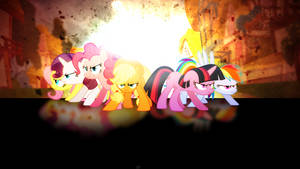 Ready for All (THE_MANE_SIX - Wallpaper | VIP) by Amoagtasaloquendo