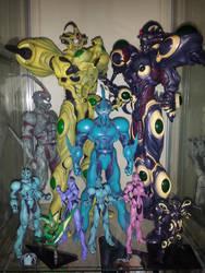 My Guyver Figure Collection by GuyverC