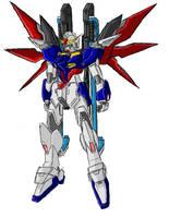 Paintchat - 'Destiny' Gundam by GuyverC