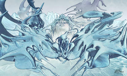 Iceman by blindobot