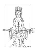Priestess Inked by TashOToole