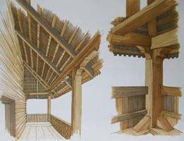 Detalii lemn by AzFaka