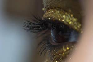 Gold Glitter Eye Stock6 by Desert-Winds