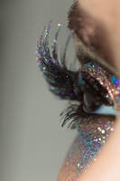Glitter Crystals Eye Stock4 by Desert-Winds