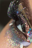 Glitter Crystals Eye Stock6 by Desert-Winds